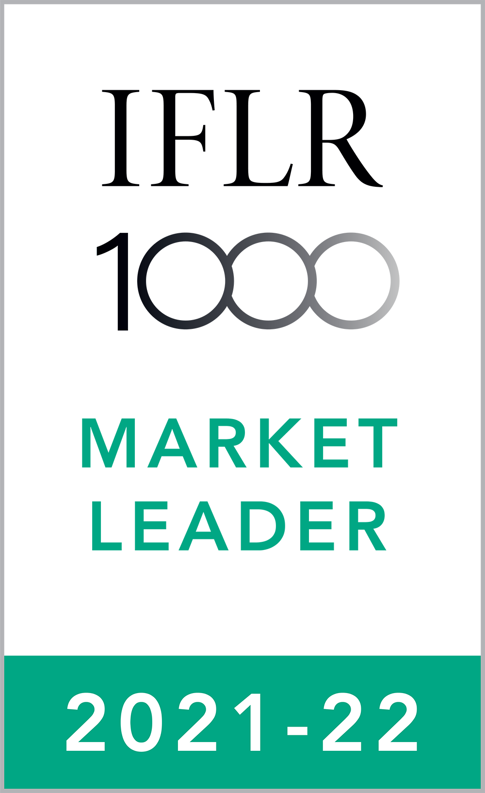 IFLR Market Leader 2021-22