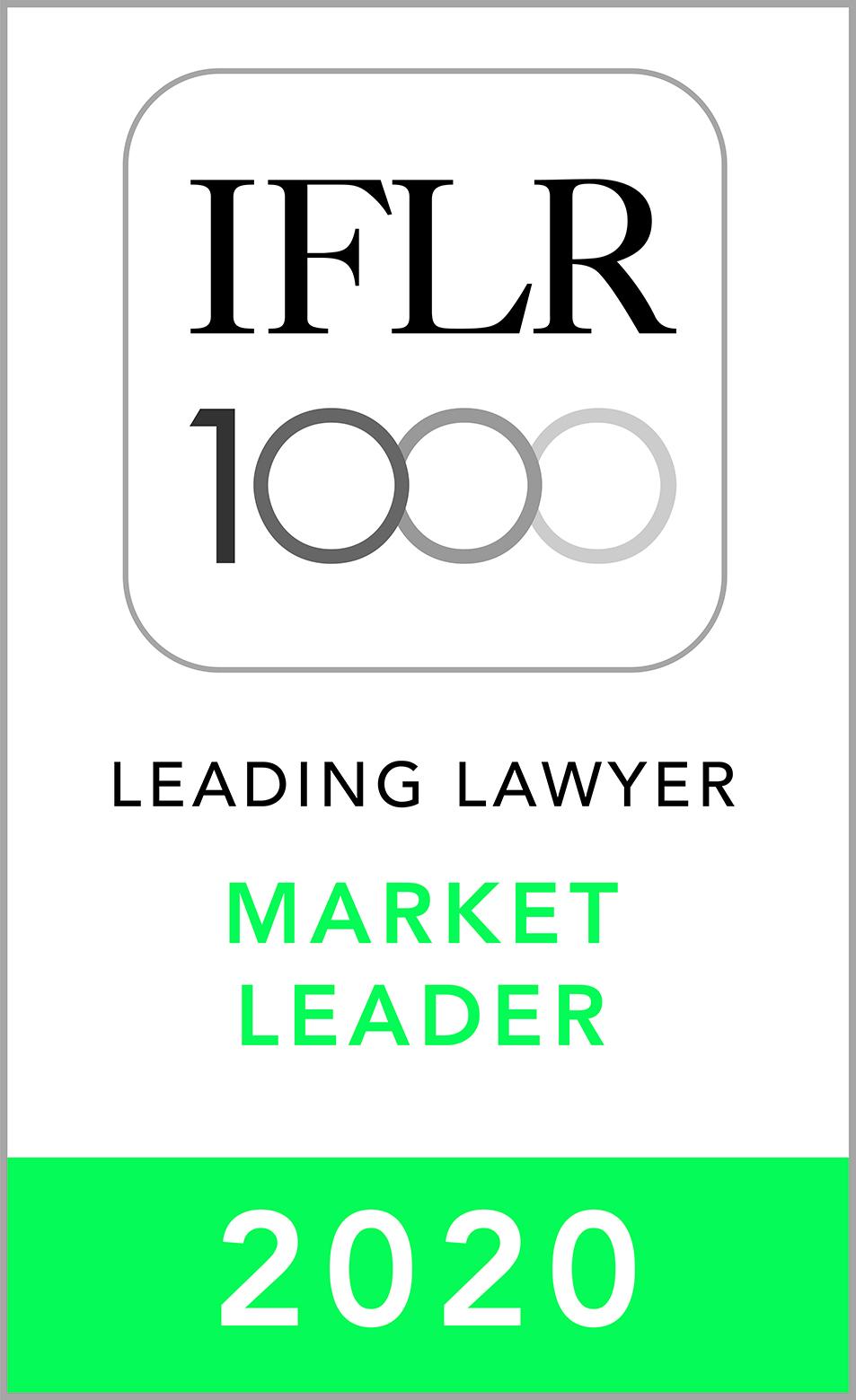 IFLR Market Leader 2020